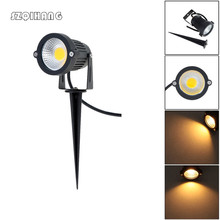 Hot Sale 9W COB LED Lawn Lamp AC/DC 12V Outdoor Decorative Landscape light Super Bright Spotlight for Garden Yard Path