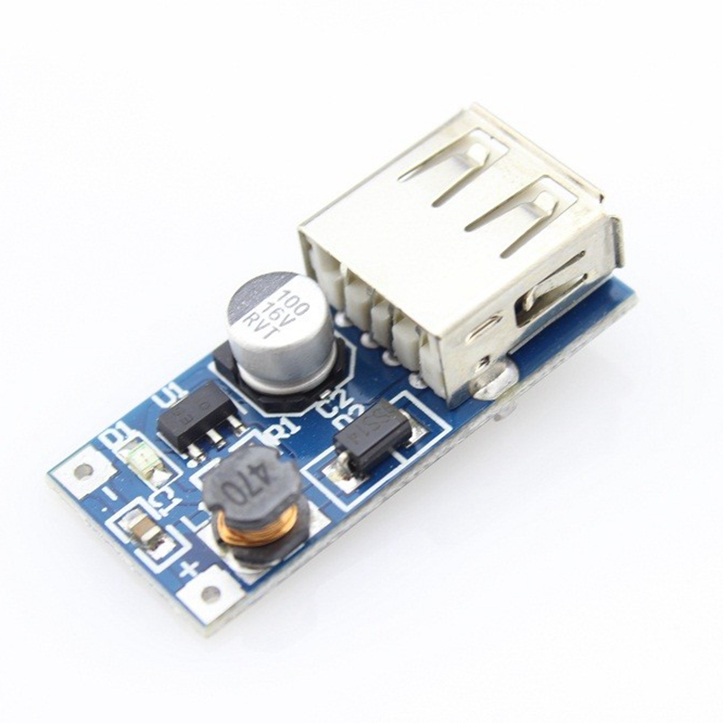 Elecrow Booster Module DC-DC 5V CE8301 USB Mobile Step-up Power Supply Module Convertidor Boost Circuit Board Electronic DIY Kit