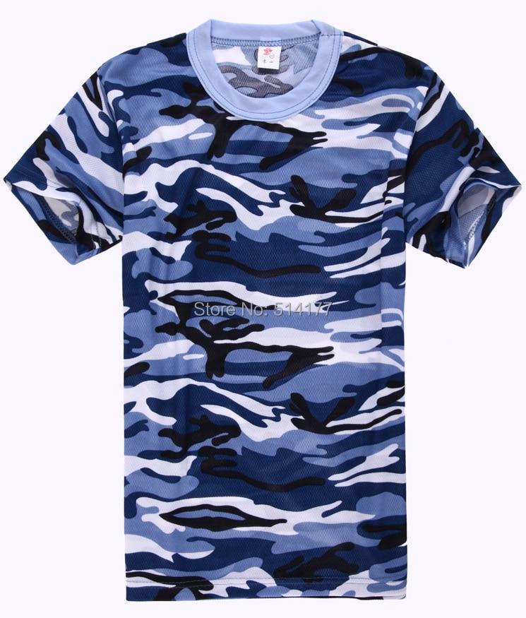 T-shirt Mannen 2016 nieuwe stijl mode camouflage korte mouw T-shirt, - Herenkleding - Foto 2