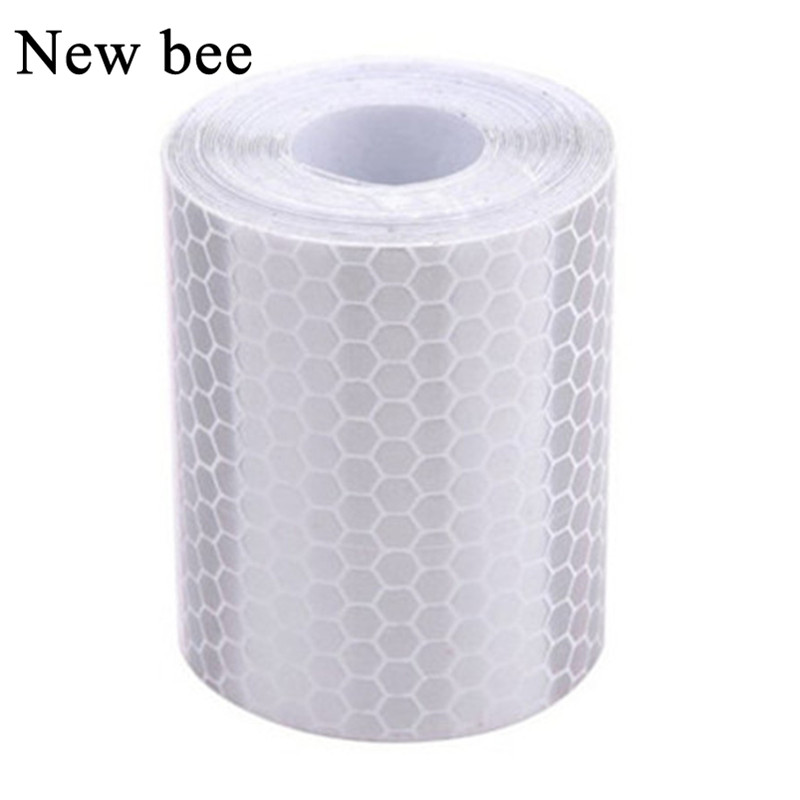 Romantic 5cm*3m Safety Mark Reflective Tape Stickers Car-styling Self Adhesive Warning Tape Automobiles Motorcycle Reflective Film Latest Fashion Back To Search Resultssecurity & Protection
