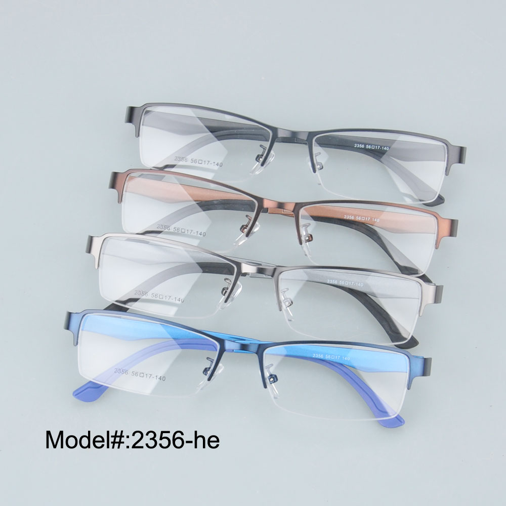 latest eyeglass frames tiwz  2356 Latest design high quality half rim RX optical frames prescriprion  spectacles myopia eyewear eyeglasses