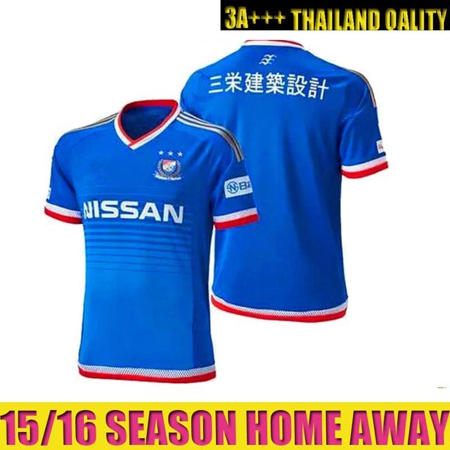 49a91f43fc1 Top Thailand quality 2015 2016 Japan J.League Yokohama F Marinos Jerseys 15  16 Home Blue Soccer Jersey SHUNSUKE Football Shirt