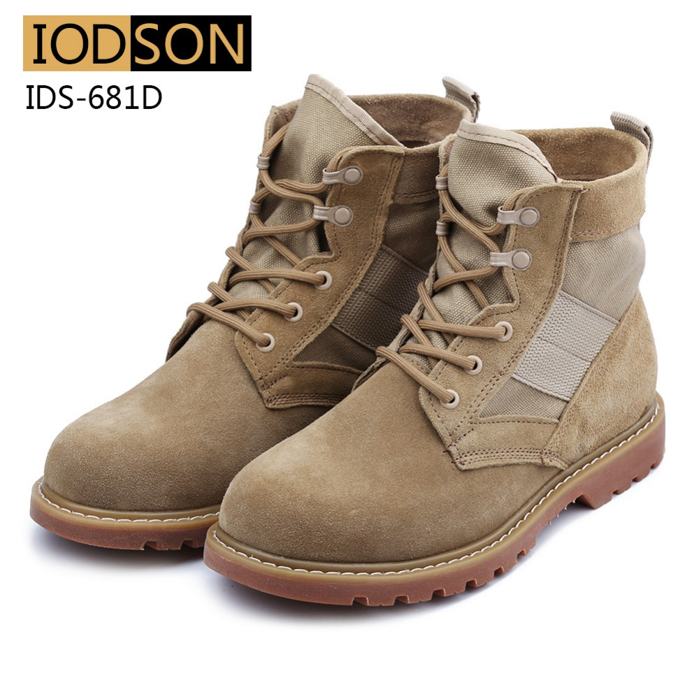 IDS-681D Vodootporne vojničke čizme Muškarci Vojne čizme - Muške cipele - Foto 6