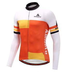 Reflective Cycling Jersey ride Classic long sleeve cycling jacket light 7d7529eae