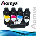 UV Led Ink Suit For Epson R1800 R1900 R2000 R3000 4800 4880 printer UV ink  for hard material like Metal,500ml*5Colors