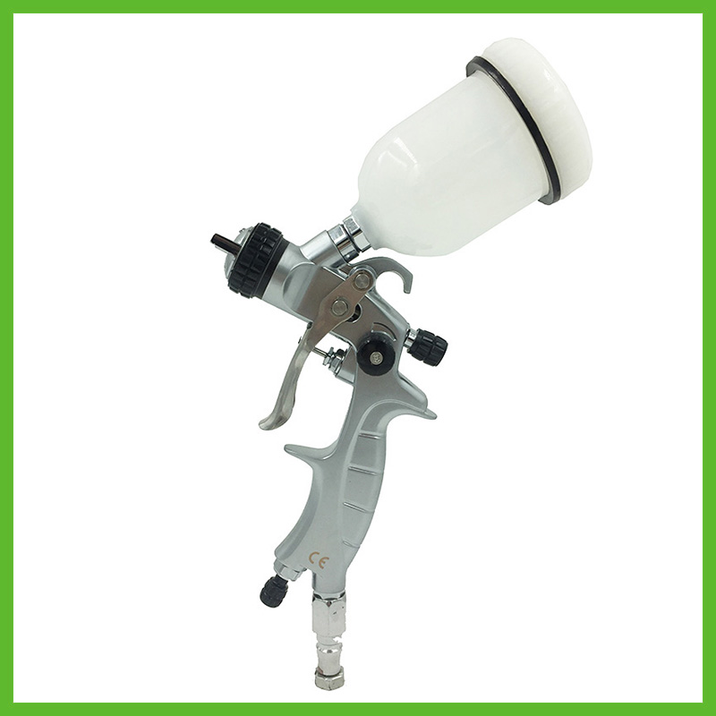 цена на SAT1216M professional high quality mini airbrush spray guns nozzle 1.0 for car painting pneumatic machine tool