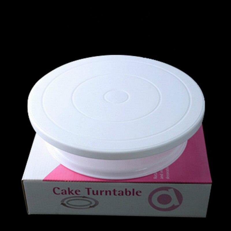 27cm Plastic Cake Turntable Rotating Cake Decorating ...