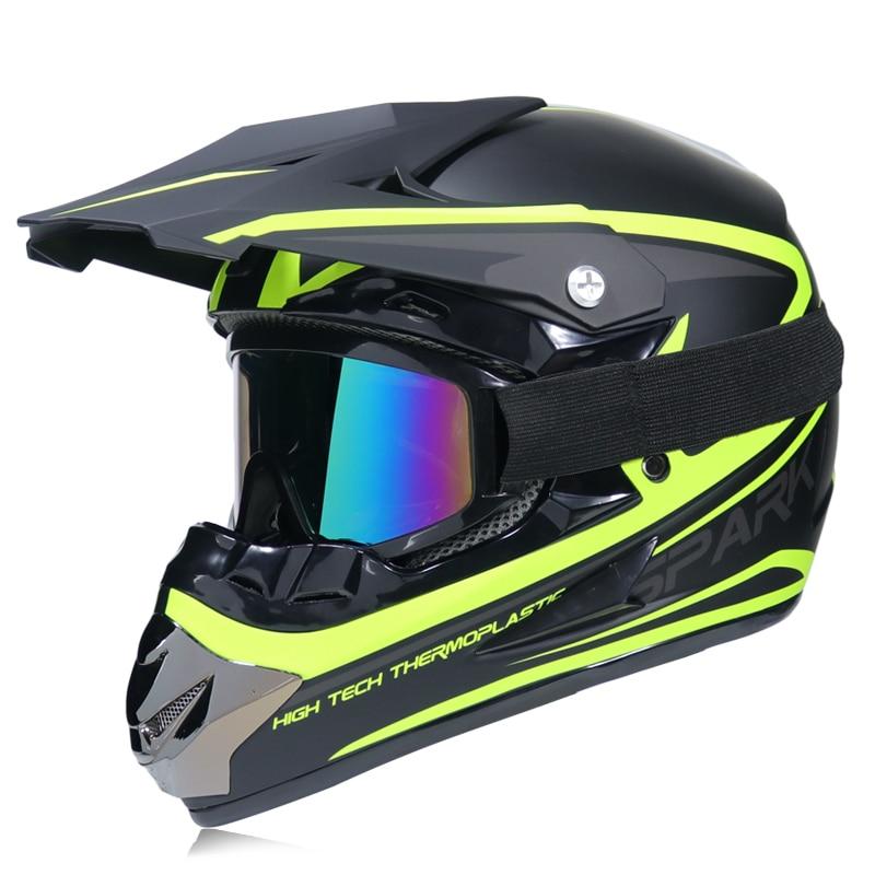 Super Light Motorcycle Racing ATV Helmet