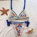 Sexy Brazilian Bikini 2017 Handmade Crochet Bikini Swimsuit  Women Swimwear Bathing Suit Biquini Maillot De Bain BJ001