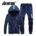 Jolintsai Men's/Women's Sporting Suits 2017 Plus Size 5XL Hoody Sweatshirt Men Sudaderas Hombre Sweat Suit Hoodies Tracksuit Men