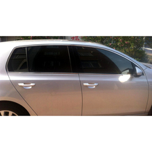 Lsrtw2017 304 нержавеющая сталь окна автомобиля планки для Volkswagen Golf MK6 2008 2009 2010 2011 2012 2013 2014 Гольф 6
