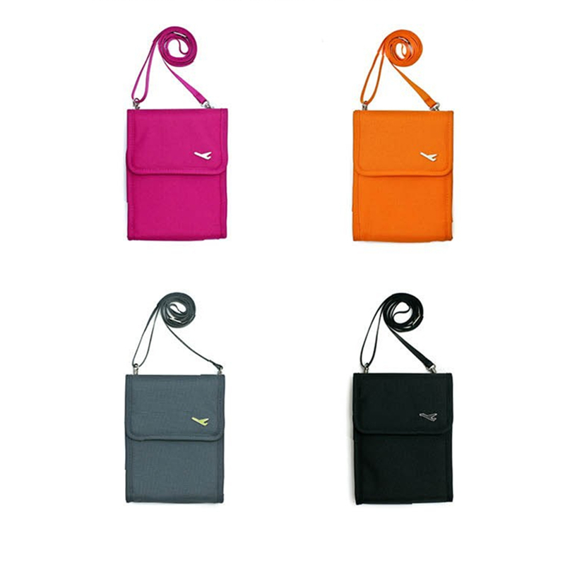 Fadish Women Messenger Passport Cover Travel Wallet Doent Holder Inclined Shoulder Bag Id Credit Card In Holders From Luggage