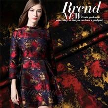 Free shipping jacquard fabric stiff cheongsam dress child coat fashion jacquard brocade fabric wholesale Jacquard cloth