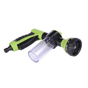 Image 3 - Neue Auto Waschen Schaum Grün Wasser Pistole Auto Washer Tragbare Durable Hochdruck Für Auto Waschen Düse Spray Kostenloser Versand