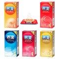 50 pcs Preservativos para homens 5 tipo ultra fino fio de partículas Naturais espiga preservativo de látex para adultos produto do sexo loja longo amor pequeno preservativo