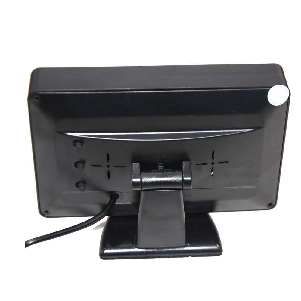 Автомобиль CCD 12LED ночное видение обратный резервный Парковка камера заднего вида для поло гольф 6 VI Passat CC Magotan 4.3TFT ЖК дисплей