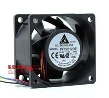 Бесплатная доставка Для Delta 6 см 60 мм 6*6*3,8 см 60*60*38 мм 6038 12 В 1.68A супер насильственной ветры вентилятор PFC0612DE