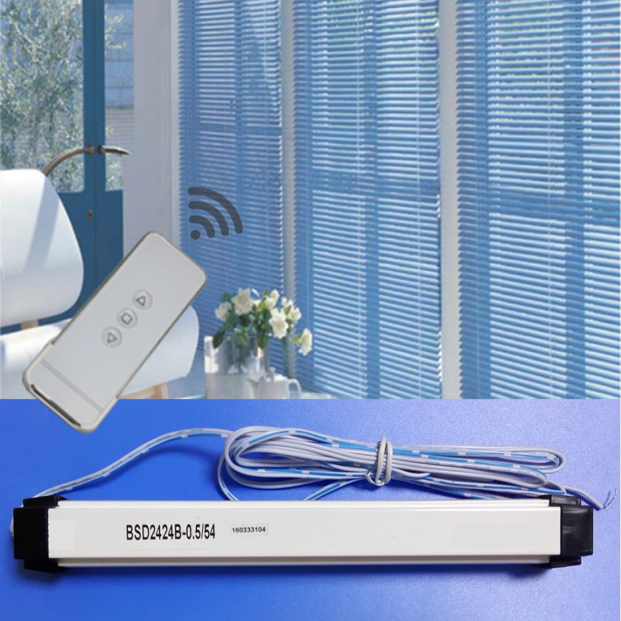 Automatic blinds Motor Dual Outputs DC Aluminum Venetian Blinds Motor Curtains Intelligent Control Automatic Smart Home automatic spanish snacks automatic latin fruit machines
