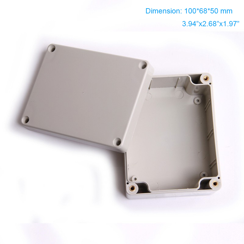Free shipping ,  Waterproof abs IP66 plastic switch box 100*68*50mm F4