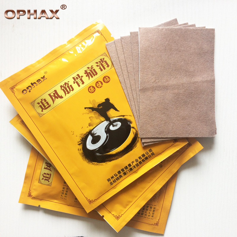 OPHAX 15Pcs/3bags Chinese Orthopedic Plasters Pain relief patch For Neck/Shoulder/Waist/Back/Joint pain Medical plaster cofoe pain relief orthopedic plaster chinese medical patch paste for shoulder hand waist knee joint foot health care 8pcs set