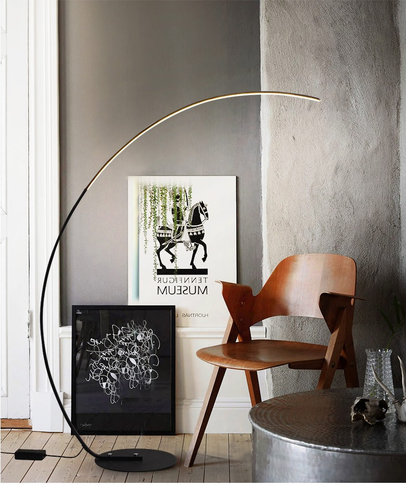 Modern Arch LED Floor Lamp