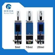 20 ミリリットル高精度 e-液体計量シリンジポンプため生化学デバイス