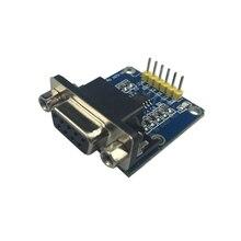 Последовательный модуль TTL к RS232 плате модуля Авто адаптер конвертер Плата расширения для STM32 Raspberry Pi Плата прототипирования