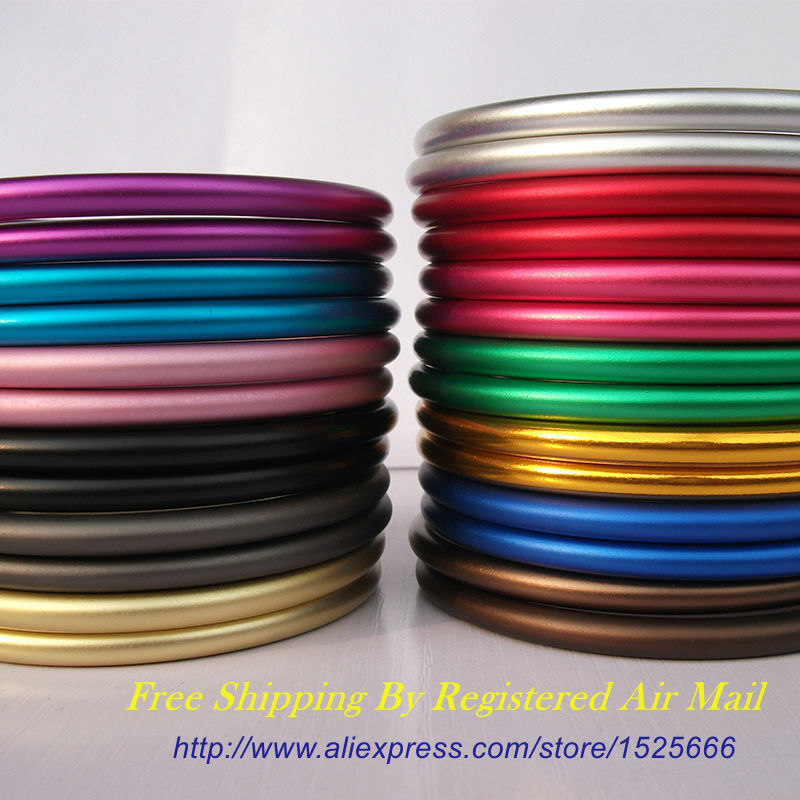 Free Shipping 1 Pair 3 Large Size Colored Aluminium Ring Sling
