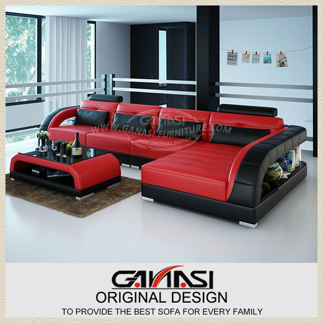 Low Price Sofa Set,african Style Sofa Set,furniture Sofa Half Leather  Corner Sofa In Living Room Sofas From Furniture On Aliexpress.com | Alibaba  Group