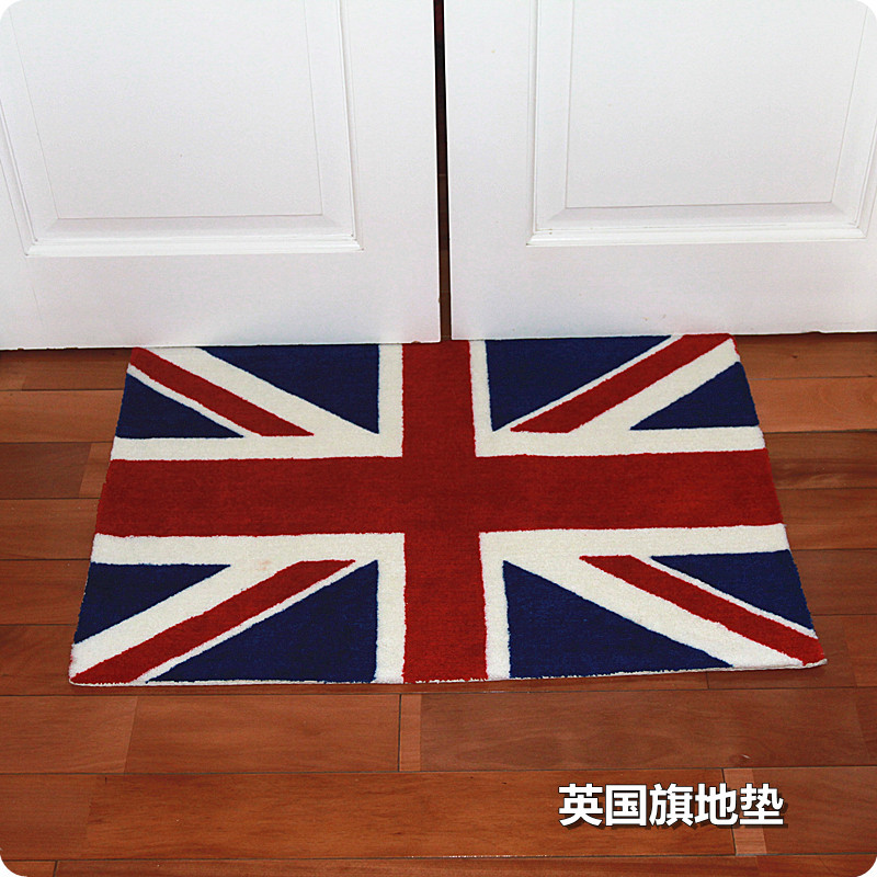 50 80cm England Flag Handmade Carpet Mat British Style Fashion Rug Doormat Unique Exotic Design Home Hotel Decor Union Jack In From Garden On