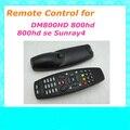 Frete grátis cor Prata Preto Controle Remoto para DM DM800 DM800HD DM800SE DM8000