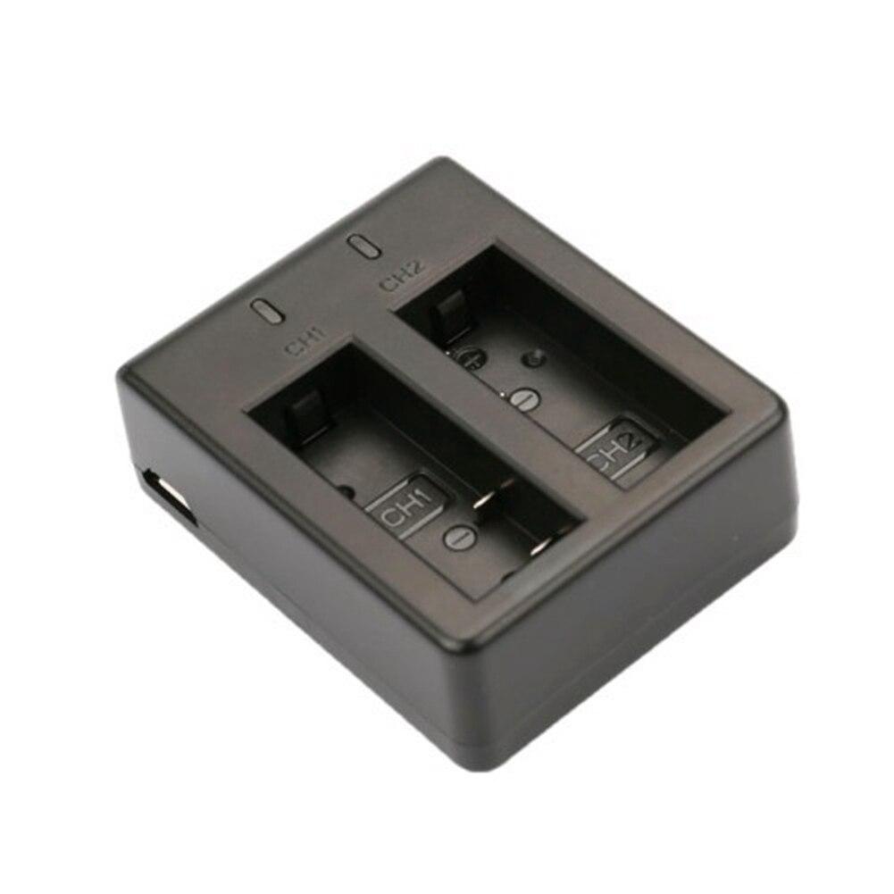 New High Quality Dual-Groove Battery USB Travel Charger For SJCAM SJ4000 / SJ5000 / SJ6000