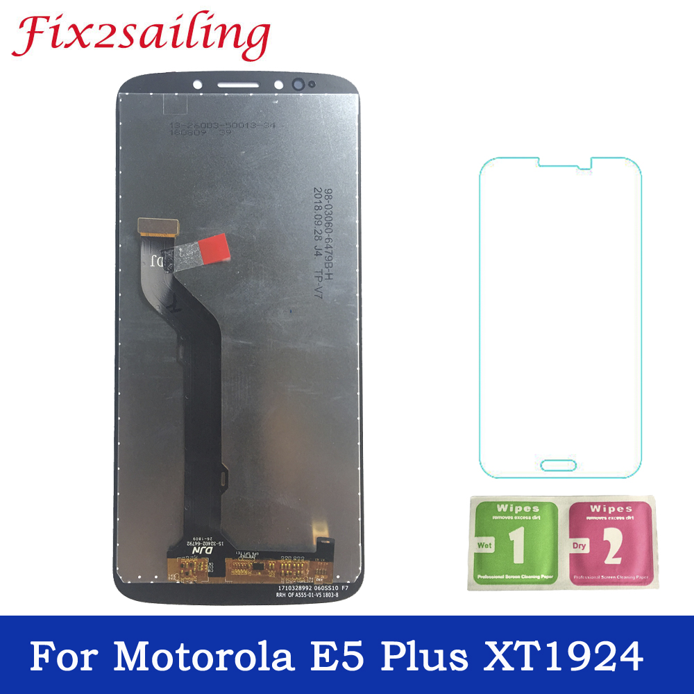 100% Tested Super Amoled For Motorola E5 Plus XT1924 LCD Display Touch Screen Assembly Replacement parts Free Shipping with gift100% Tested Super Amoled For Motorola E5 Plus XT1924 LCD Display Touch Screen Assembly Replacement parts Free Shipping with gift
