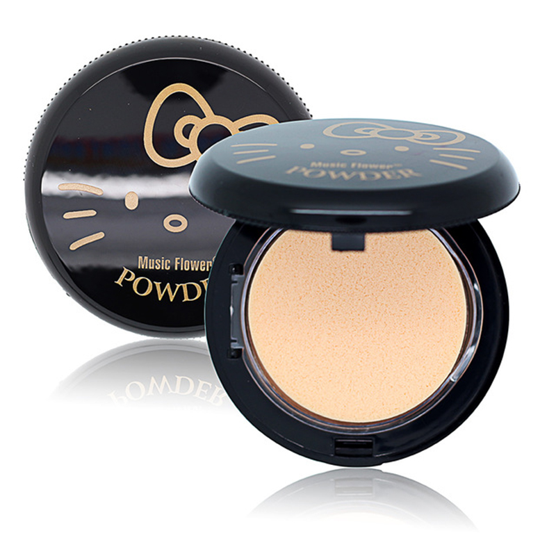 1 Unids Face Powder Cats Wink Higlighter Powder Foundation - Maquillaje