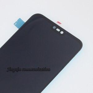 Image 4 - Pantalla original para Huawei P20 Lite, repuesto de componente LCD + Digitalizador de pantalla táctil, Nova 3E con Marco, 100%