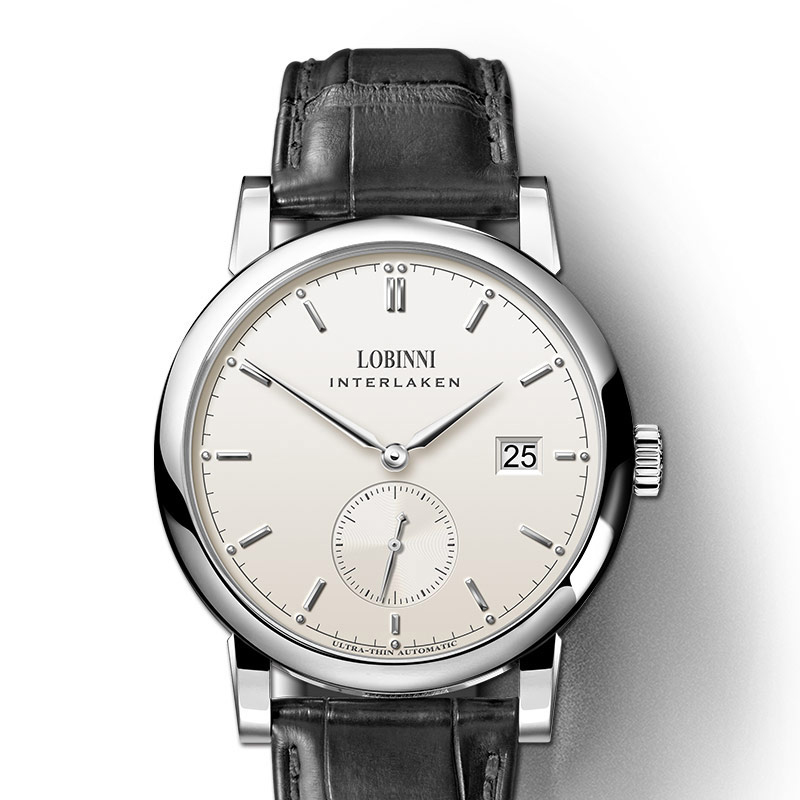 Luxury Brand LOBINNI Switzerland Men Watches seagull Automatic MechanicalMens Clock Sapphire Genuine Leather relogio L6013M-1Luxury Brand LOBINNI Switzerland Men Watches seagull Automatic MechanicalMens Clock Sapphire Genuine Leather relogio L6013M-1