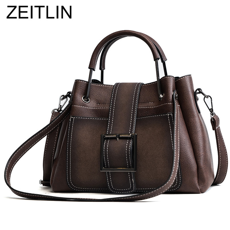 European style Quality PU Leather Handbags Women's Designer Handbag 2018 Fashion New Ladies Large Capacity Shoulder Bags S633 european style quality pu leather handbags women s designer handbag 2018 fashion new ladies high capacity tote bag shoulder bags