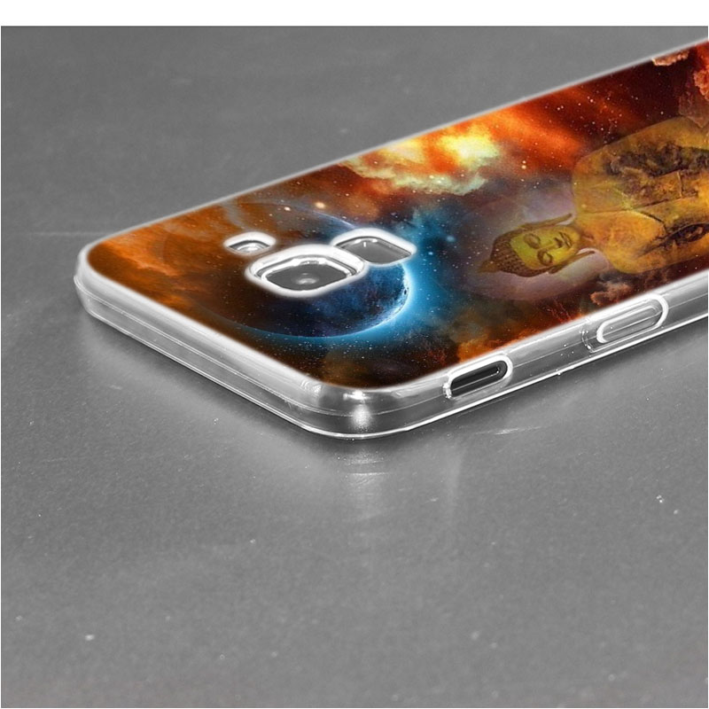 Transparent Soft Silicone Phone Case gautama buddha For Samsung Galaxy j8 j7 j6 j5 j4 j3 Plus 2018 2017 Prime in Fitted Cases from Cellphones Telecommunications
