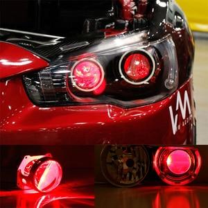 Draadloze Controle RGB LED Demon Ogen licht Voor audi A1 A3 A4 A6 TT Q2 Q3 Q5 Q7 R8 S2 s3 S4 S5 S6 S8 S7 HID Projector Lichten Lens