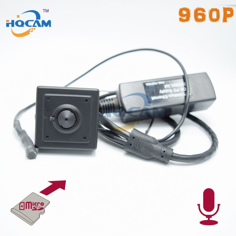 Audio 960P Micro TF SD Camera POE Mini IP Camera Home Security Camera IP Cam Indoor CCTV IP Kamera Support POE With SD Card MIC audio 2 8 12mm zoom manual lens 720p micro tf sd card slot mini ip camera onvif for home indoor security cctv ip kamera