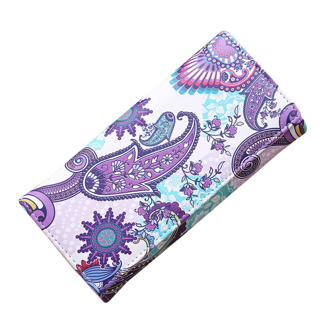 Flower print Card Bag
