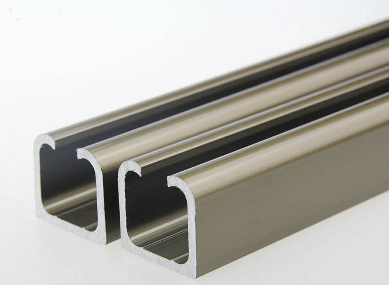 Customized products,door pulley Slide track , 1.2m/piece , door hardware customized products 30pcs cf cards