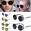 1 PC Óculos de Cyber Goggles Blinder Steampunk Óculos de Sol Retro Vintage 50 s Óculos Redondos