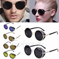1PC Glasses Cyber Goggles Vintage Retro Blinder Steampunk Sunglasses 50s Round Glasses