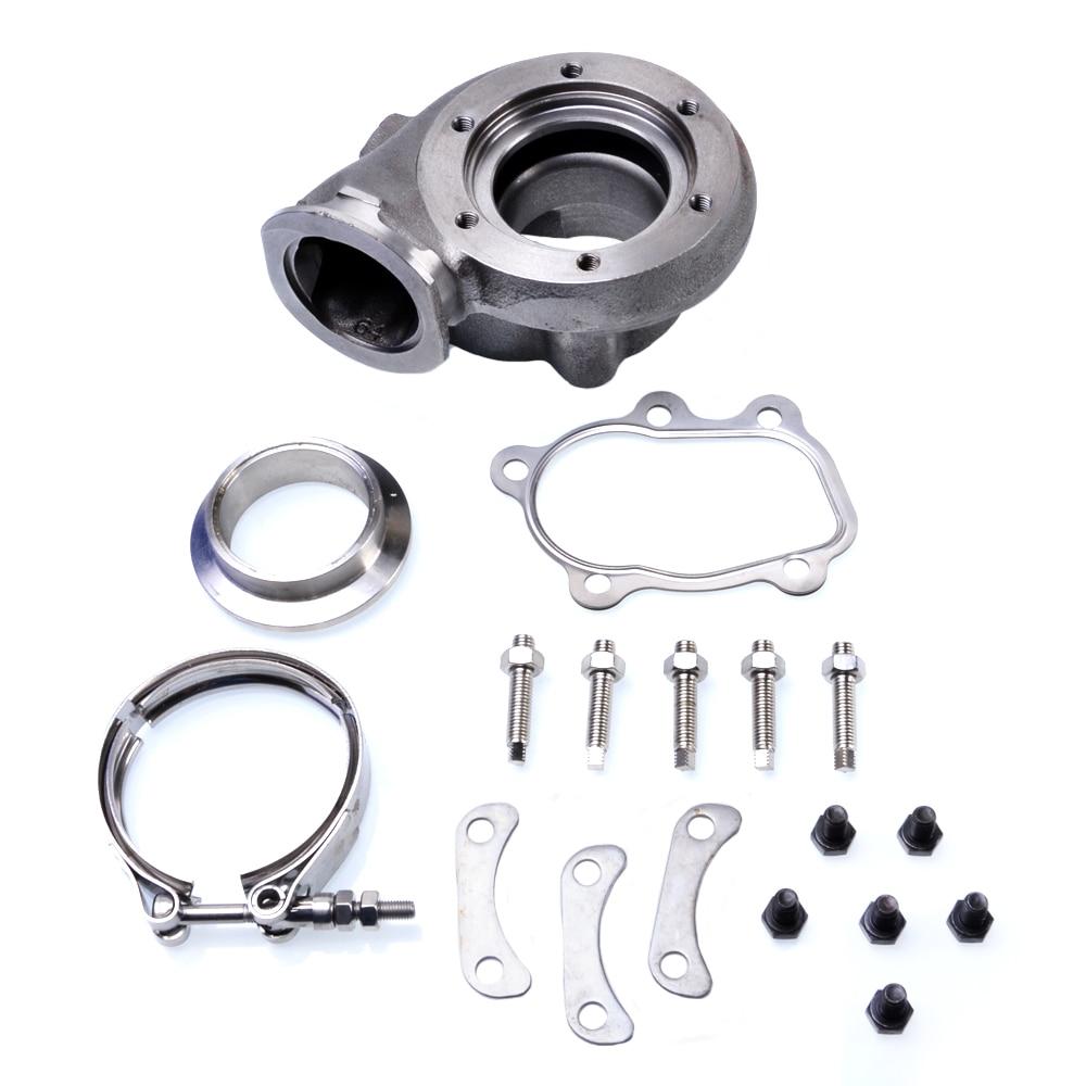 Kinugawa Turbo Turbine Housing Kit AR.64 V Band 5 Bolzen Trim 84 für HKSs GT2835/für Garrett GTX3071R-in Turbolader & Teile aus Kraftfahrzeuge und Motorräder bei title=