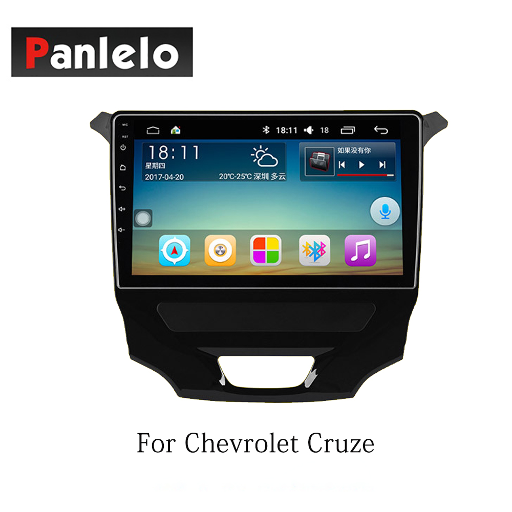 Panlelo Android 7.1 Stereo For Chevrolet Cruze Sail Lova Trax Malibu XL Quad Core 1GB RAM 16GB ROM Mirror Link Bluetooth Radio