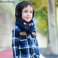 DreamShining Winter Kids Scarf Children Spanish Baby Wrap Pure Color Little Boy And Little Girl Scarfs Thick Shawl 2015 New