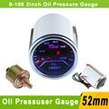 "2""(52mm) Smoke Lens Car Oil Pressure Gauge Meter 0-100 PSI Auto Gauge Car Meter 52mm Oil Pressure Gauge Press Oil Press Gauge"