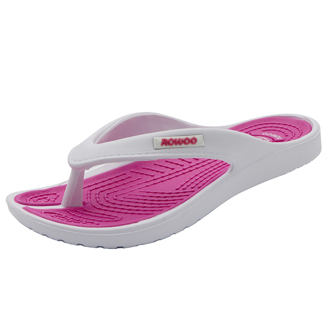 2017 Casual Beach Women Slipper Sandals Brand New design Summer Home Massage Flat Flip-Flops Shoes for Female plus Big Size