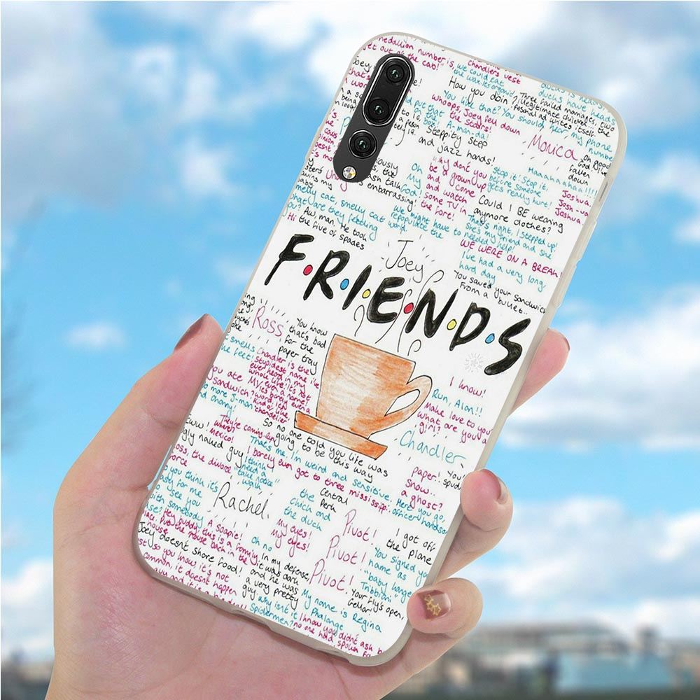 Case for Huawei Honor 9 Lite Friends Season TV Phone Cover for 7C 10 Note Y6 2018 Y7 Y9 Nove 3 3i 6A 7A 7X Pro 8 8C in Fitted Cases from Cellphones Telecommunications